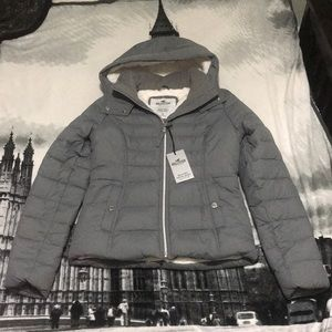 Hollister puffer jacket collection